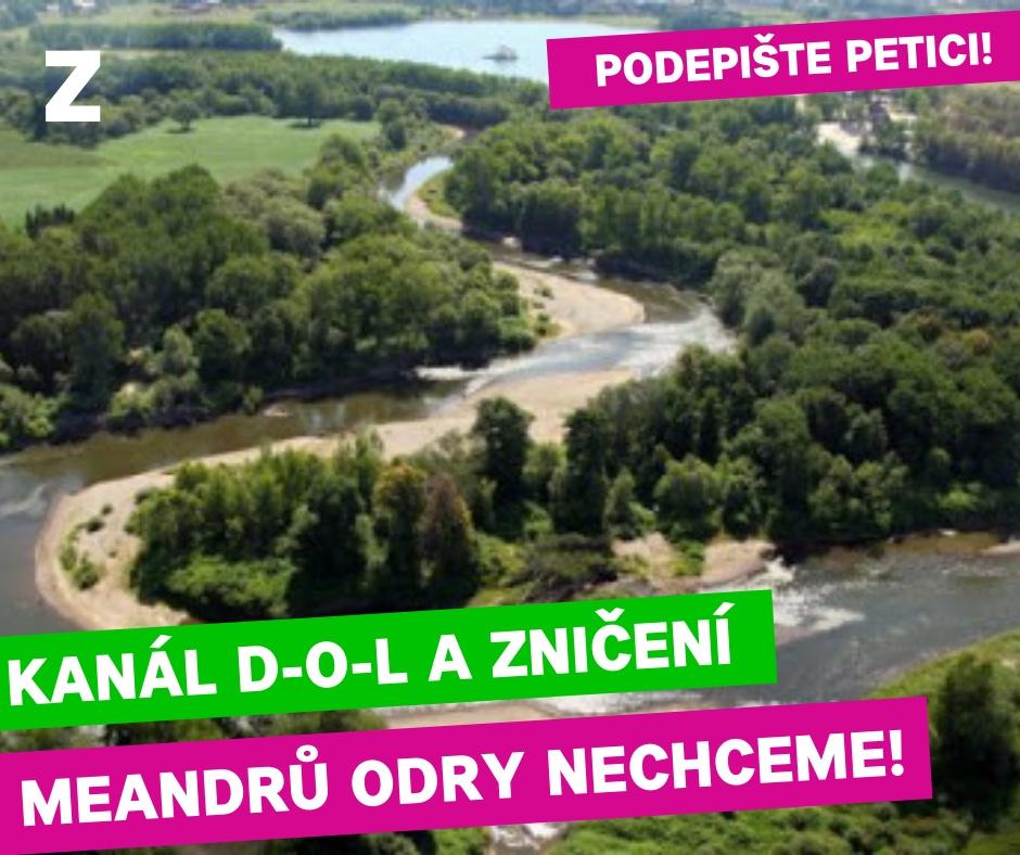 Petice proti kanalu D-O-L
